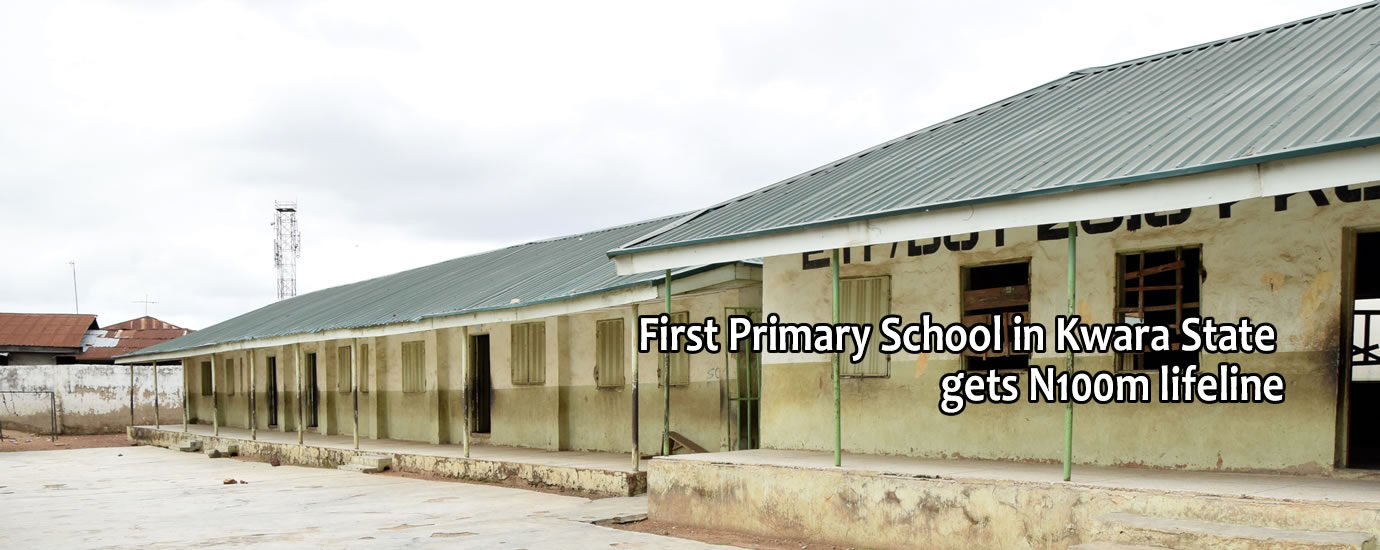 1st pry school in kwara state gets life line
