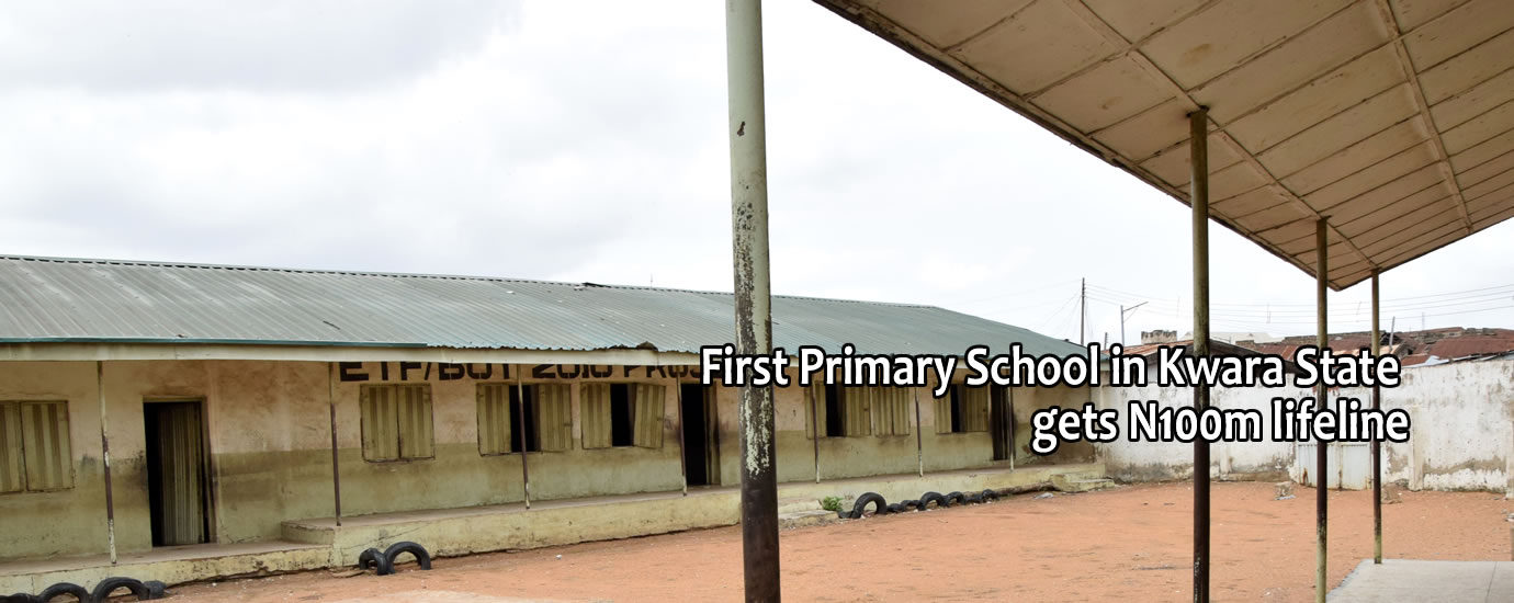 1st pry school in kwara state gets life line2