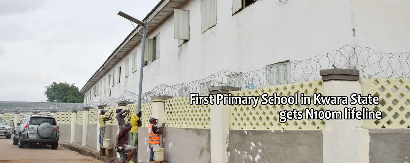 1st pry school in kwara state gets life line3