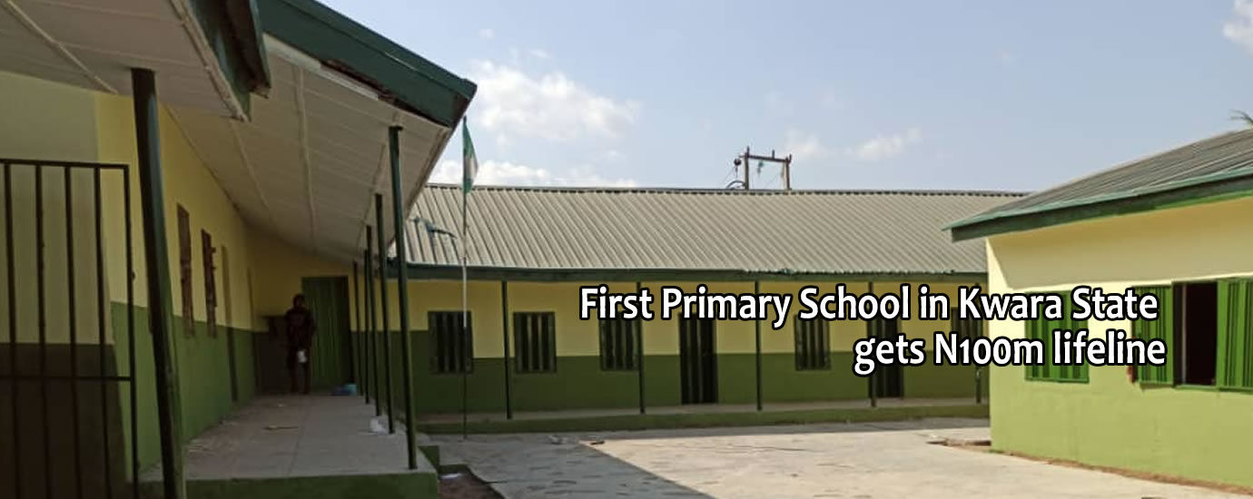 1st pry school in kwara state gets life line4