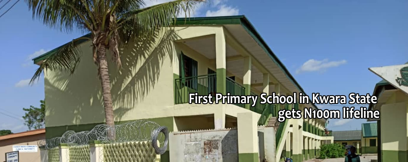 1st pry school in kwara state gets life line5