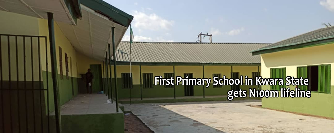 1st pry school in kwara state gets life line6