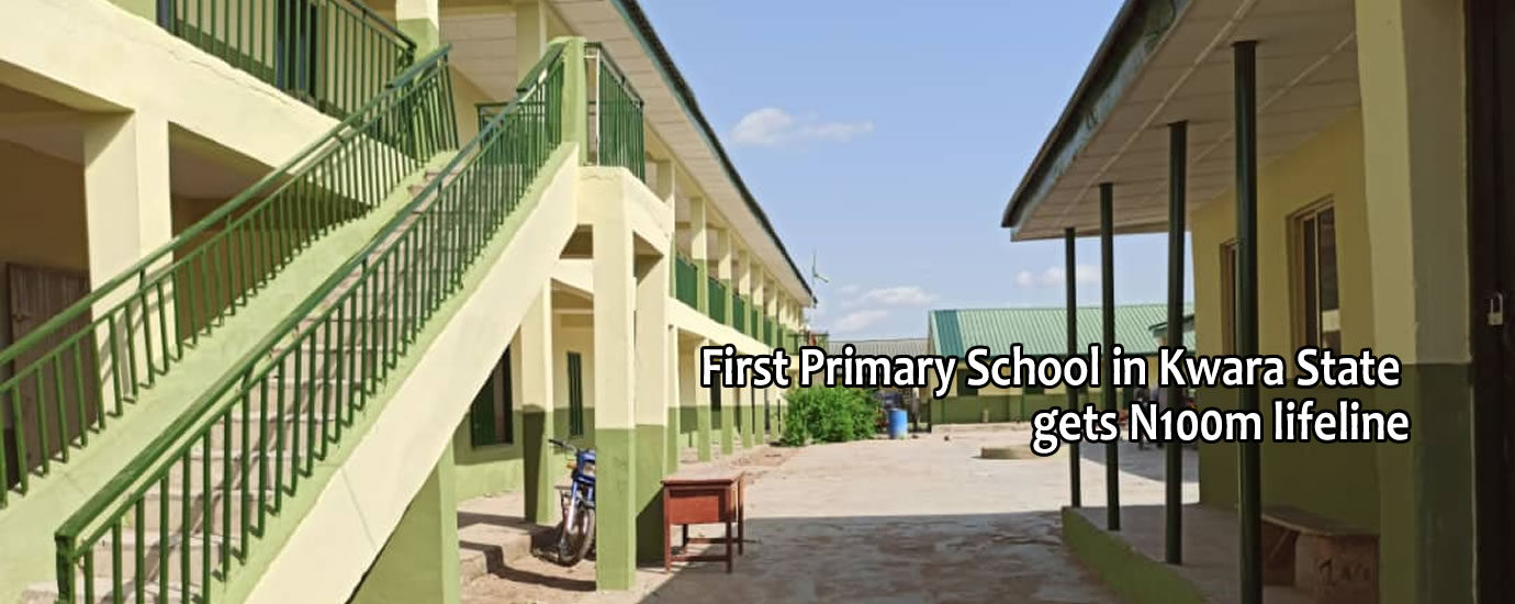 1st pry school in kwara state gets life line7
