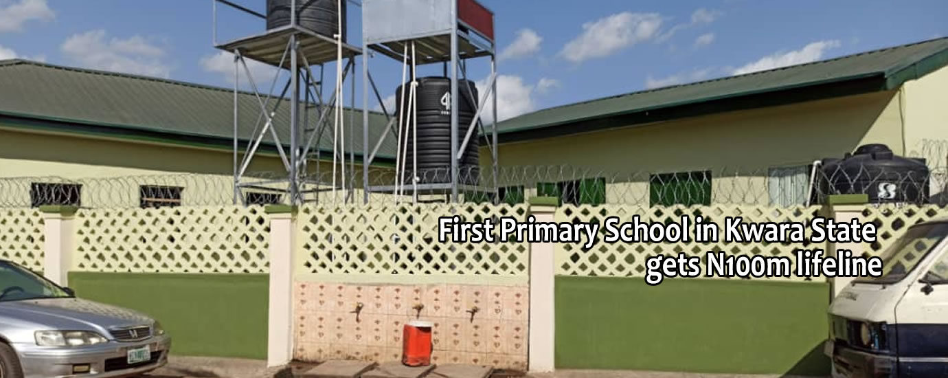 1st pry school in kwara state gets life line8
